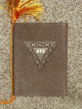 Vintage 1943 Eta Chapter of ATA Fraternity Dinner Dance Booklet Alpha Tau Alpha
