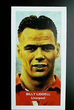 LIVERPOOL - BILLY LIDDELL - Score UK football trade card