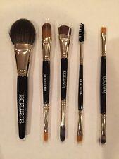 LAURA MERCIER LUXE TRAVEL BRUSH SET DOUBLE ENDED 5 Piece No Box