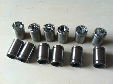12pcs LM8UU 8mm Linear Ball Bearing Bush Bushing
