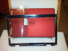 New Dell Red Inspiron 1545 1546 Lcd Back Cover J456m with Bezel hinges and wires