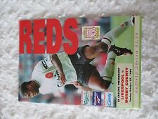 Liverpool FC vs Derby County Sun Oct 27th 1996 Anfield Review