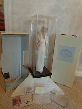 21 Inch Enclosed Case Doll Display for Barbie, etc