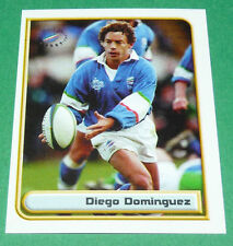 N°107 DIEGO DOMINGUEZ ITALIA MERLIN IRB RUGBY WORLD CUP 1999 PANINI COUPE MONDE