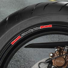 Buell Streetfighter Wheel rim Stickers Lightning