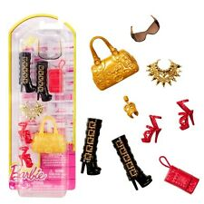 Barbie - Scarpe, Borse, Gioielli - Set di Accessori per la Bambola Barbie