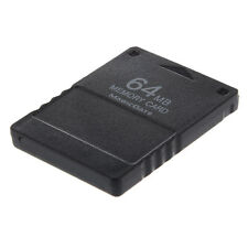 New Black 64 MB 64MB 64M Save Memory Card Stick For Sony PS2 Playstation 2 PS N3