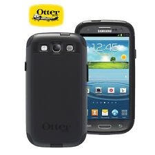 New Otterbox Commuter For Samsung Galaxy S3 Case with Screen Protector - Black