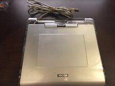 Wacom CTE-440 Graphire4 Silver USB Drawing Tablet Missing Stylus