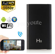 1080P HD WiFi Spy Hidden Camera Power Bank Video DVR Night Vision P2P Camcorder