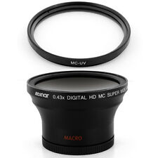 Albinar 58mm .43x Wide Fisheye Lens, Filter for Olympus E-1 E300 E330 E5 E3 E410
