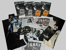 ELVIS PRESLEY Atlanta 1975 Deluxe Variation 6 silver Sticker - CD + DVD + pins