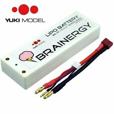 Yuki Model LIPO BATTERIA 801000, 7,4v 5200mah 45c 2s1p CUSTODIA RIGIDA
