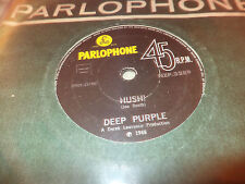"DEEP PURPLE ""HUSH/ONE MORE RAINY DAY"" 7"" NEW ZEALAND ULTRA RARE"