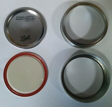 Ball Wide Mouth Lids and Bands 100 each for Mason Jars