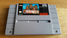 Romance Of The Three Kingdoms II US SNES Super Nintendo NTSC