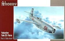 YAKOVLEV YAK 23 FLORA (USAF & SOVIET AF MKGS) 1/72 SPECIALHOBBY