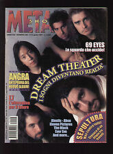 METAL SHOCK 236/1997 DREAM THEATER ABSU 69 EYES ALASTIS L7 SEPULTURA ANGRA EVER