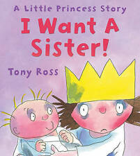 I Want a Sister Kids Story Book Reading Book