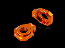 ZETA Axle Blocks Chain Adjusters KTM EXC125 EXC150 EXC200 EXC250 EXC300 03-16