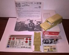 Land Rover LUCKY ST. Paris-Dakar'86 RALLY 1/43 KIT montaggio