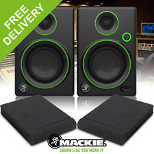 "Mackie CR4 "" Inch Active Powered Media Studio Reference Monitors Speakers 50W"