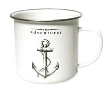 The Adventurer Enamel Mug from the Victoriana Range by Gift Republic
