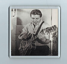 Coaster: EDDIE COCHRAN (Guitar) ROCKABILLY ROCK n ROLL Retro