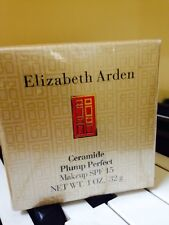 Elizabeth Arden Ceramide Plump Perfect Makeup Foundation 04 Warm Sunbeige Nwob