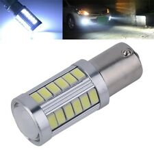 White 1156 BA15S 33-SMD 5630 LED Auto Car Vehicle Reverse Tail Light Bulb F5