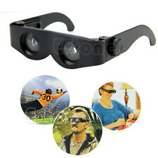 Magnifier Binoculars Telescope Glasses Style For Hiking Fishing Concert Portable