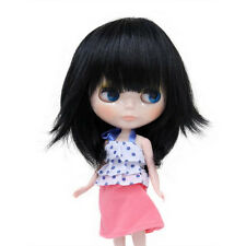 Blythe Accessory Doll Wig  9.5-11Inch 25-28cm Japan Original B-145 Black
