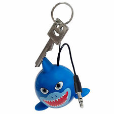 Kitsound Mini Buddy Portable Speaker Shark / Hai KSNMBSHK, blau