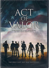 ACT OF VALOR (DVD, 2012) NEW