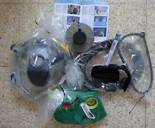 ISRAEL 2009 NEW PROTECTIVE HOOD KIT WITH BLOWER large size GAS MASK