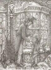 DICKENS - TINY TIM'S XMAS EVE (PRINT) BY JAMIE MONTGOMERY