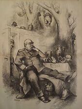 KAISER WILLIAM BISMARK RUSSO-TURKISH WAR NEUTRAL HARPER'S WEEKLY 1877