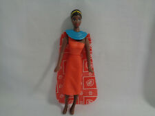 McDonald's 1995 Mattel Barbie Kenya Dolls of the Word Happy Meal Toy