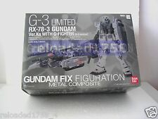 ★GUNDAM G3 RX-78-3 FIX FIGURATION METAL COMPOSITE CHOGOKIN WHIT G-FIGHTER ZAKU★