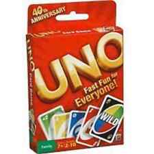 MATTEL UNO CARD GAME  *Brand New - FAST FUN FOR EVERYONE* 52277