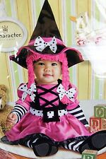 Wee Witch Halloween Costume Girls Size 18-24 Month 2T