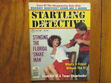 1980 Startling Detective Mag(JOSEPH STEVENS/EDWARD NICHOLAS/ROSS FRANCIS HENNING
