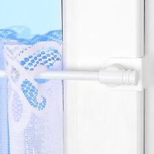 Barre à rideaux télescopique Klick-Fix 35-55cm Blanc (Tige de calage) Universel