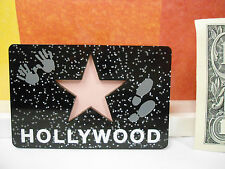 HOLLYWOOD STAR SOUVENIR MAGNET 2 INCHES BY 3 INCHES NEW