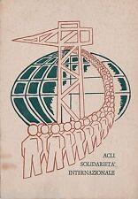 # ACLI- SOLIDARIETA' INTERNAZIONALE