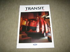 Ford Transit Prospekt Brochure von 8/1992, 8 Seiten