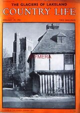 1951 'A Corner by the Church SMARDEN, KENT' - Country Life Cover Photo Print