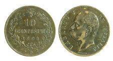 pci1748) Regno d Italia Umberto I  Centesimi 10 Valore 1894