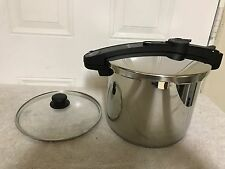 Fagor Chef Stainless Steel 10 Quart Pressure Cooker Display Item