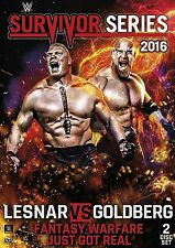 WWE Wrestling Survivor Series 2016 DVD Brand NEW Goldberg Brock Lesnar